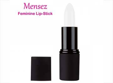 Mensez Feminine Lip-Stick is adhesive for your labia that keeps blood inside, where it should be.
