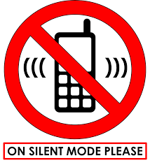Most intelligent people know that no one wants to hear their phone ringing. These signs are for the stupid people.